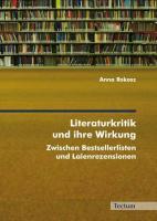 Literaturkritik und ihre Wirkung