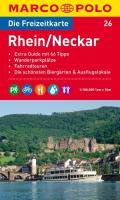 MARCO POLO Freizeitkarte Rhein/Neckar 1:100.000