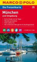 MARCO POLO Freizeitkarte München und Umgebung 1:110.000 (MARCO POLO Freizeitkarten)