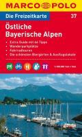 MARCO POLO Freizeitkarte 37 Östliche Bayerische Alpen 1 : 100 000