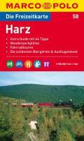 MARCO POLO Freizeitkarte 58 Harz 1 : 100 000