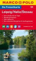 MARCO POLO Freizeitkarte 59 Leipzig / Halle / Dessau 1 : 100 000