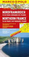 MARCO POLO Karte Nordfrankreich, Ile-de-France, Normandie-Ost, Picardie: Île-de-France, Normandie-Ost, Picardie (MARCO POLO Karten 1:300.000)