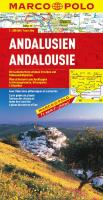 MARCO POLO Karte Andalusien (MARCO POLO Karten 1:300.000)