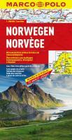 Marco Polo Länderkarte Norwegen 1 : 800 000