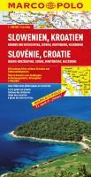 MARCO POLO Länderkarte Slowenien, Kroatien, Bosnien und Herzegowina, Serbien Montenegro, Mazedonien 1:800.000 (MARCO POLO Länderkarten)