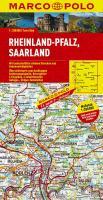 MARCO POLO Karte Deutschland 10. Rheinland-Pflaz, Saarland 1 : 200 000