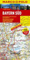 MARCO POLO Karte Bayern Süd 1:200.000 (MARCO POLO Karten 1:200.000)