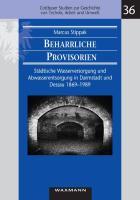 Beharrliche Provisorien: Städtische Wasserversorgung und Abwasserentsorgung in Darmstadt und Dessau 1869 - 1989 (Cottbuser Studien zur Geschichte von Technik, Arbeit und Umwelt)
