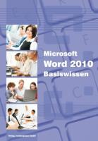 Word 2010 - Basiswissen