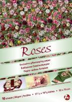 Gift Wrap Papers: Roses: Exklusives Geschenkpapier mit originellen Verpackungsideen