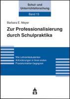 Zur Professionalisierung durch Schulpraktika