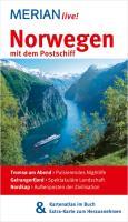 MERIAN live! Reiseführer Norwegen mit dem Postschiff: MERIAN live! – Mit Kartenatlas im Buch und Extra-Karte zum Herausneh