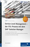Service Level Management - der ITIL-Prozess mit dem SAP Solution Manager