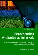 Representing Attitudes as Intervals - Johnson, Tim