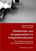Effektivität von Gruppenarbeit in Integrationskursen - Kreuzig, Susanne; Zervaki, Maria