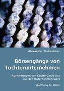 Börsengänge von Tochterunternehmen - Pinhammer, Alexander