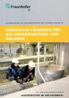 Innovative Lösungen für die Instandhaltung von Anlagen