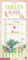 Familienplaner mit Rezepten und Tipps 2012