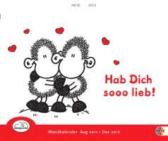 Sheepworld-Hab Dich sooo lieb! Schüler-Wandkalender 2012