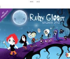 Ruby Gloom Spiral Date Book 2012