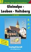 WK 132 Gleinalpe - Lipizzanerheimat - Leoben - Voitsberg, Wanderkarte 1:50.000