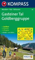 40: Gasteiner Tal - Goldberggruppe 1:50, 000