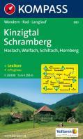 Kinzigtal, Schramberg: Wander- und Bikekarte. Haslach - Wolfach - Schiltach - Hornberg. 1:25.000. GPS-genau