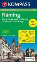 Fläming, Belzig - Luckenwalde, Jüterbog - Lutherstadt Wittenberg: Wandern/Rad. Mit touristischen Hinweisen. 1:50.000. GPS-genau