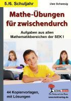 Mathe-Übungen für zwischendurch / Klasse 5-6