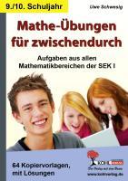 Mathe-Übungen für zwischendurch / Klasse 9-10