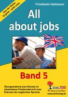 All about jobs: English - quite easy! Band 5