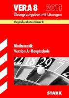 Vergleichsarbeiten 2012 Mathematik VERA 8. Version A Hauptschule: Übungsaufgaben mit Lösungen