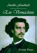 Ein Vermächtnis Anselm Feuerbach Author