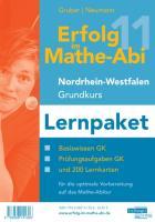 Erfolg im Mathe-Abi 2011 Nordrhein-Westfalen Grundkurs Lernpaket: Basiswissen Grundkurs, Prüfungsaufgaben Grundkurs und 200 Lernkarten für die optimale Vorbereitung auf das Mathe-Abitur für die