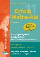 Erfolg im Mathe-Abi 2011 Hessen Prüfungsaufgaben Leistungskurs wiss. Taschenrechner