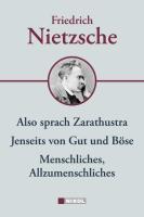Friedrich Nietzsche: Hauptwerke: Menschliches-Allzumenschliches, Also sprach Zarathustra, Jenseits von Gut und Böse