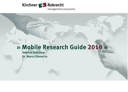 Mobile Research Guide 2010