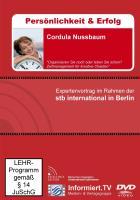 Wissensforum.TV - Cordula Nussbaum - Zeitmanagement für kreative Chaoten - Nussbaum, Cordula; Ebert, Christian