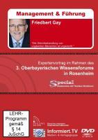 Wissensforum.TV - Friedbert Gay - Die Gleichbehandlung von ungleichen Menschen ist ungerecht.