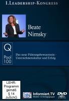 Q-Pool 100 - Beate Nimsky - Das neue Führungsbewusstsein - Unternehmenskultur und Erfolg - Nimsky, Beate; Ebert, Christian
