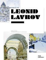 Städte in Europa. Architekturzeichnungen von Leonid P. Lavrov
