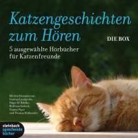 Katzengeschichten zum Hören: 5 Hörbücher für Katzenfreunde. 7 CDs