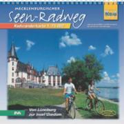 Quadrat-Spiralo BVA Mecklenburgischer Seen-Radweg Von Lüneburg bis zur Insel Usedom Radwanderkarte 1:75.000
