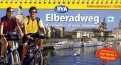 Elberadweg Dresden-Magdeburg, Kompakt-Spiralo, Radwanderkarte 1 : 75 000