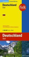 Falk Länderkarte Deutschland Süd 1:500 000