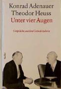 Rhöndorfer Ausgabe, Unter vier Augen