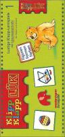 LÜK. Klipp-Klapp 1. Figuren, Formen, Farben: Lustige Klapp-Lernspiele mit Lösungskontrolle für Kinder von 3 bis 6