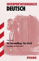Die Verwandlung / Das Urteil. Interpretationshilfe Deutsch.