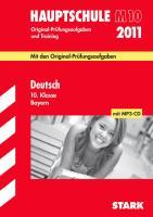 Hauptschule 2005. Deutsch. 10. Kl. Bayern 1999 - 2004